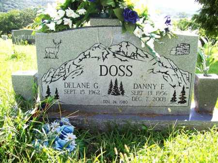 DOSS, DANNY E. - Benton County, Arkansas | DANNY E. DOSS - Arkansas Gravestone Photos