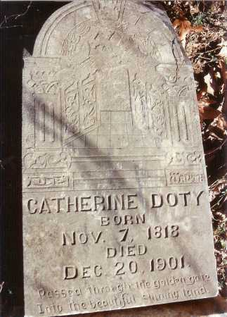 DOTY, CATHERINE - Benton County, Arkansas | CATHERINE DOTY - Arkansas Gravestone Photos