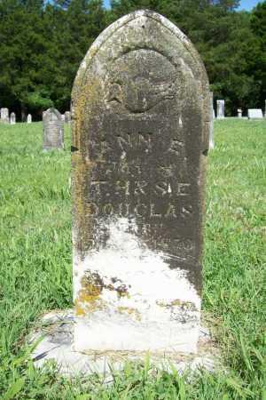 DOUGLAS, ANN E - Benton County, Arkansas   ANN E DOUGLAS - Arkansas Gravestone Photos