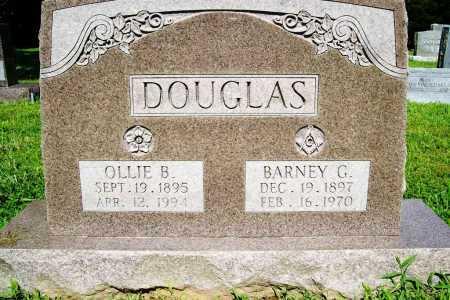 DOUGLAS, OLLIE B. - Benton County, Arkansas   OLLIE B. DOUGLAS - Arkansas Gravestone Photos