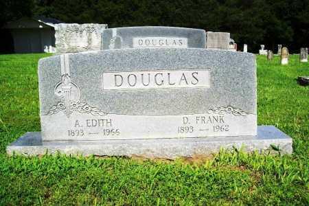 DOUGLAS, D. FRANK - Benton County, Arkansas   D. FRANK DOUGLAS - Arkansas Gravestone Photos
