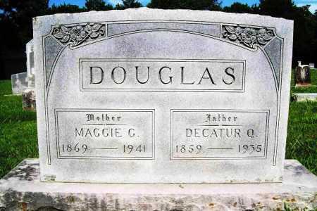 DOUGLAS, DECATUR Q. - Benton County, Arkansas | DECATUR Q. DOUGLAS - Arkansas Gravestone Photos
