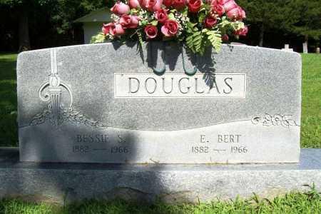 DOUGLAS, BESSIE S. - Benton County, Arkansas | BESSIE S. DOUGLAS - Arkansas Gravestone Photos