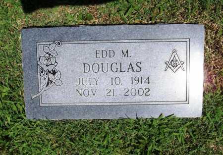 DOUGLAS, EDD M. - Benton County, Arkansas   EDD M. DOUGLAS - Arkansas Gravestone Photos