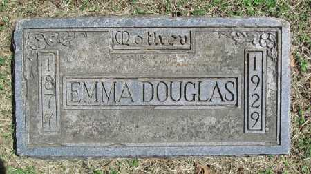 DOUGLAS, EMMA - Benton County, Arkansas | EMMA DOUGLAS - Arkansas Gravestone Photos