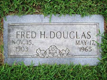 DOUGLAS, FRED HOPKINS - Benton County, Arkansas | FRED HOPKINS DOUGLAS - Arkansas Gravestone Photos
