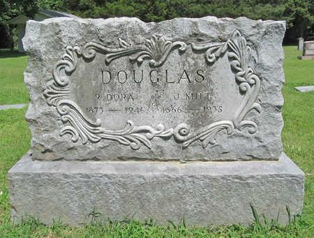 DOUGLAS, R DORA - Benton County, Arkansas | R DORA DOUGLAS - Arkansas Gravestone Photos