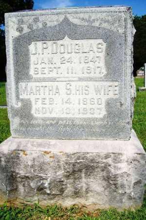 DOUGLAS, J. P. - Benton County, Arkansas   J. P. DOUGLAS - Arkansas Gravestone Photos