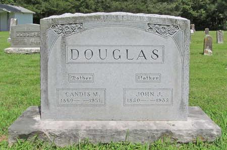 DOUGLAS, JOHN J - Benton County, Arkansas | JOHN J DOUGLAS - Arkansas Gravestone Photos