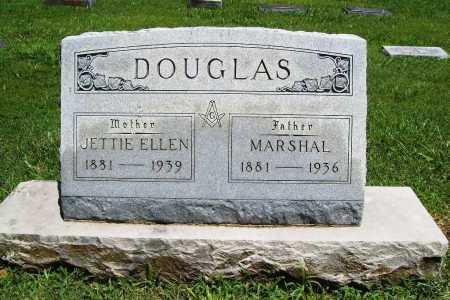 DOUGLAS, JETTIE ELLEN - Benton County, Arkansas | JETTIE ELLEN DOUGLAS - Arkansas Gravestone Photos