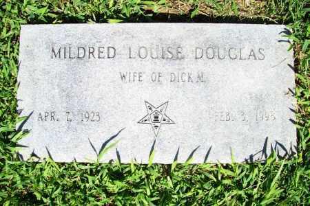 DOUGLAS, MILDRED LOUISE - Benton County, Arkansas | MILDRED LOUISE DOUGLAS - Arkansas Gravestone Photos