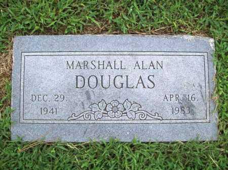 DOUGLAS, MARSHALL ALAN - Benton County, Arkansas   MARSHALL ALAN DOUGLAS - Arkansas Gravestone Photos