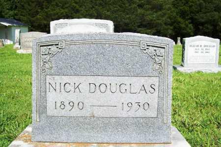 DOUGLAS, NICK - Benton County, Arkansas   NICK DOUGLAS - Arkansas Gravestone Photos