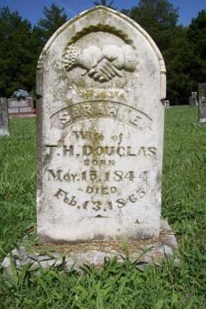 DOUGLAS, SARAH E. - Benton County, Arkansas | SARAH E. DOUGLAS - Arkansas Gravestone Photos