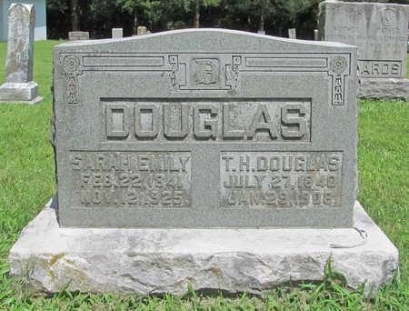 DOUGLAS, THOMAS HOPKINS - Benton County, Arkansas | THOMAS HOPKINS DOUGLAS - Arkansas Gravestone Photos