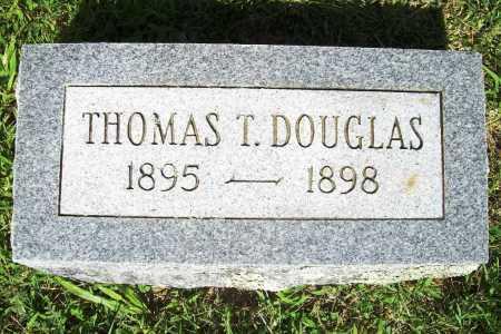 DOUGLAS, THOMAS T. - Benton County, Arkansas | THOMAS T. DOUGLAS - Arkansas Gravestone Photos
