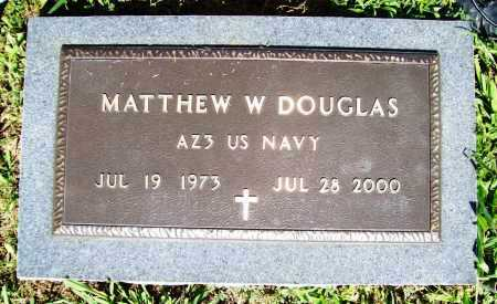 DOUGLAS (VETERAN), MATTHEW W. - Benton County, Arkansas | MATTHEW W. DOUGLAS (VETERAN) - Arkansas Gravestone Photos