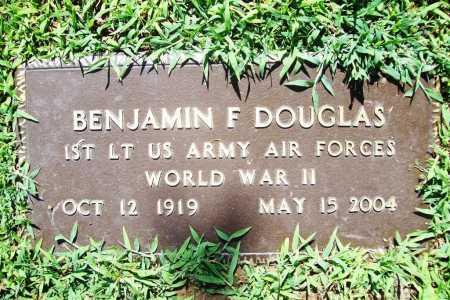 DOUGLAS (VETERAN WWII), BENJAMIN F. - Benton County, Arkansas | BENJAMIN F. DOUGLAS (VETERAN WWII) - Arkansas Gravestone Photos