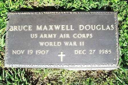 DOUGLAS (VETERAN WWII), BRUCE MAXWELL - Benton County, Arkansas   BRUCE MAXWELL DOUGLAS (VETERAN WWII) - Arkansas Gravestone Photos