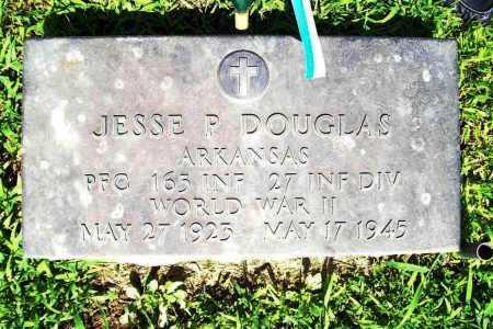 DOUGLAS (VETERAN WWII), JESSE P. - Benton County, Arkansas | JESSE P. DOUGLAS (VETERAN WWII) - Arkansas Gravestone Photos
