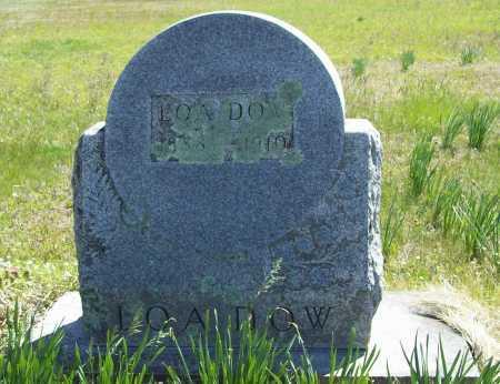 DOW, LOA - Benton County, Arkansas | LOA DOW - Arkansas Gravestone Photos