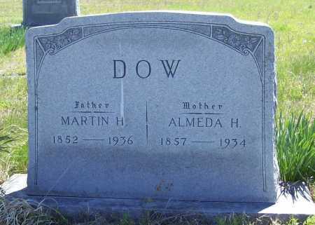 DOW, MARTIN H. - Benton County, Arkansas | MARTIN H. DOW - Arkansas Gravestone Photos
