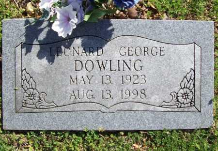 DOWLING, LEONARD GEORGE - Benton County, Arkansas   LEONARD GEORGE DOWLING - Arkansas Gravestone Photos