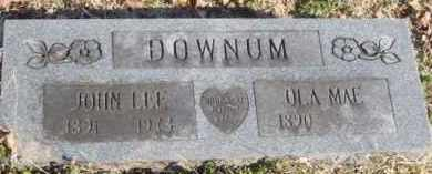 DOWNUM, OLA MAE - Benton County, Arkansas | OLA MAE DOWNUM - Arkansas Gravestone Photos