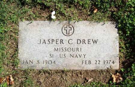 DREW (VETERAN), JASPER C - Benton County, Arkansas   JASPER C DREW (VETERAN) - Arkansas Gravestone Photos