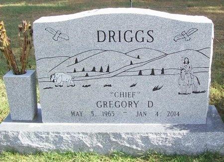 """DRIGGS, GREGORY D """"CHIEF"""" - Benton County, Arkansas   GREGORY D """"CHIEF"""" DRIGGS - Arkansas Gravestone Photos"""