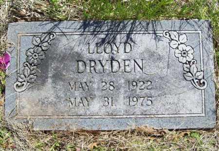 DRYDEN, LLOYD - Benton County, Arkansas   LLOYD DRYDEN - Arkansas Gravestone Photos