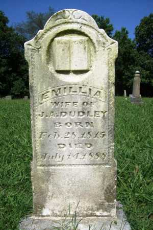 DUDLEY, EMILLIA - Benton County, Arkansas | EMILLIA DUDLEY - Arkansas Gravestone Photos