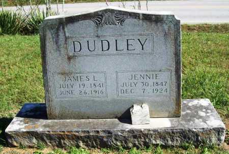 DUDLEY, JENNIE - Benton County, Arkansas | JENNIE DUDLEY - Arkansas Gravestone Photos