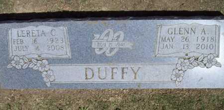 CHILDERS DUFFY, LERETA C. - Benton County, Arkansas | LERETA C. CHILDERS DUFFY - Arkansas Gravestone Photos