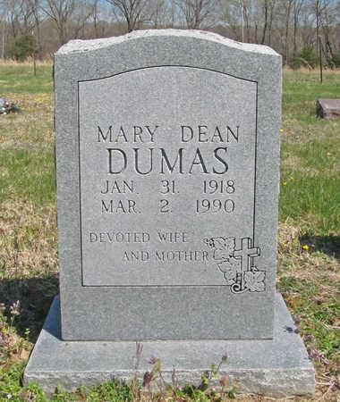 DEAN DUMAS, MARY - Benton County, Arkansas | MARY DEAN DUMAS - Arkansas Gravestone Photos