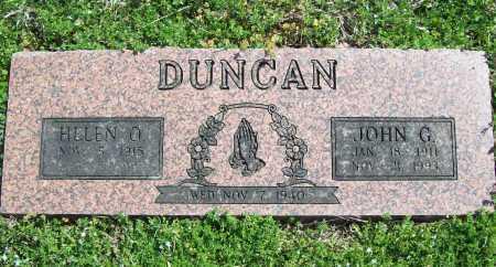 DUNCAN, HELEN O. - Benton County, Arkansas | HELEN O. DUNCAN - Arkansas Gravestone Photos