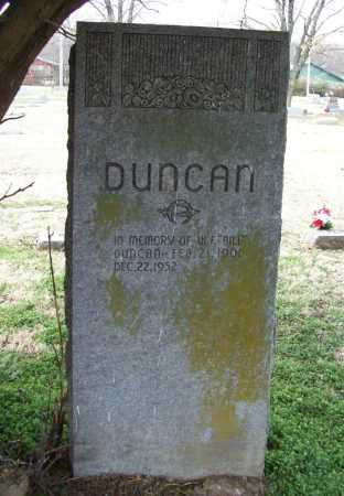 "DUNCAN, W. F. ""BILL"" - Benton County, Arkansas 