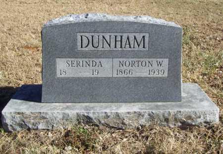 DUNHAM, NORTON W. - Benton County, Arkansas   NORTON W. DUNHAM - Arkansas Gravestone Photos