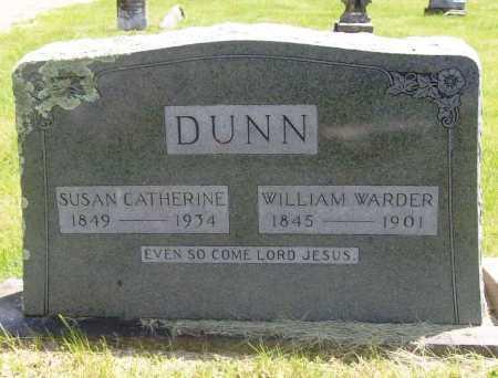 DUNN, SUSAN CATHERINE - Benton County, Arkansas   SUSAN CATHERINE DUNN - Arkansas Gravestone Photos