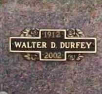 DURFEY (VETERAN WWII), WALTER DEAN - Benton County, Arkansas | WALTER DEAN DURFEY (VETERAN WWII) - Arkansas Gravestone Photos