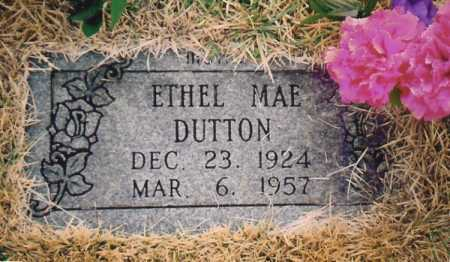 DUTTON, ETHEL MAE - Benton County, Arkansas | ETHEL MAE DUTTON - Arkansas Gravestone Photos