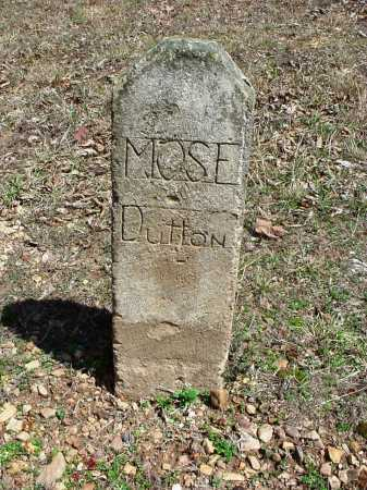 DUTTON, MOSE - Benton County, Arkansas | MOSE DUTTON - Arkansas Gravestone Photos