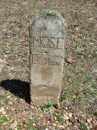 DUTTON, MOSE - Benton County, Arkansas   MOSE DUTTON - Arkansas Gravestone Photos