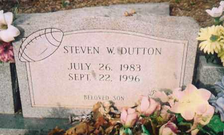 DUTTON, STEVEN W. - Benton County, Arkansas   STEVEN W. DUTTON - Arkansas Gravestone Photos