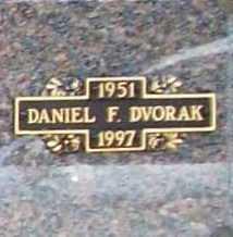 DVORAK, DANIEL F. - Benton County, Arkansas   DANIEL F. DVORAK - Arkansas Gravestone Photos