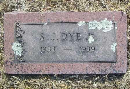 DYE, SHADE J. JR. - Benton County, Arkansas | SHADE J. JR. DYE - Arkansas Gravestone Photos