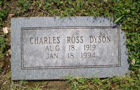 DYSON, CHARLES ROSS - Benton County, Arkansas   CHARLES ROSS DYSON - Arkansas Gravestone Photos