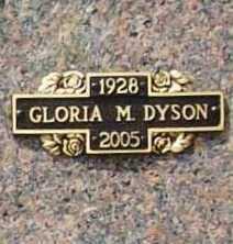 DYSON, GLORIA MAE - Benton County, Arkansas | GLORIA MAE DYSON - Arkansas Gravestone Photos