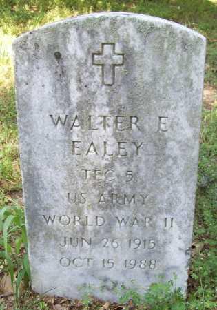 EALEY (VETERAN WWII), WALTER E - Benton County, Arkansas   WALTER E EALEY (VETERAN WWII) - Arkansas Gravestone Photos