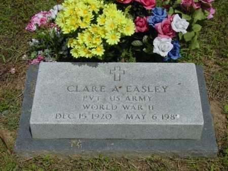 EASLEY (VETERAN WWII), CLARE AUGUSTUS - Benton County, Arkansas | CLARE AUGUSTUS EASLEY (VETERAN WWII) - Arkansas Gravestone Photos
